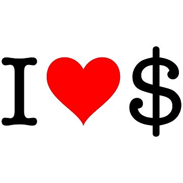 I Love Dollar by fourretout