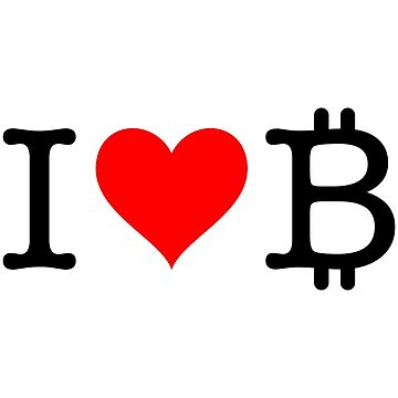 I Love Bitcoin by fourretout