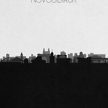 Travel Posters   Destination: Novosibirsk by geekmywall