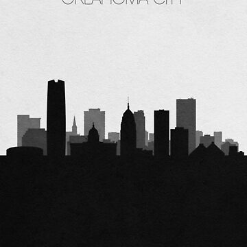 Travel Posters   Destination: Oklahoma City by geekmywall
