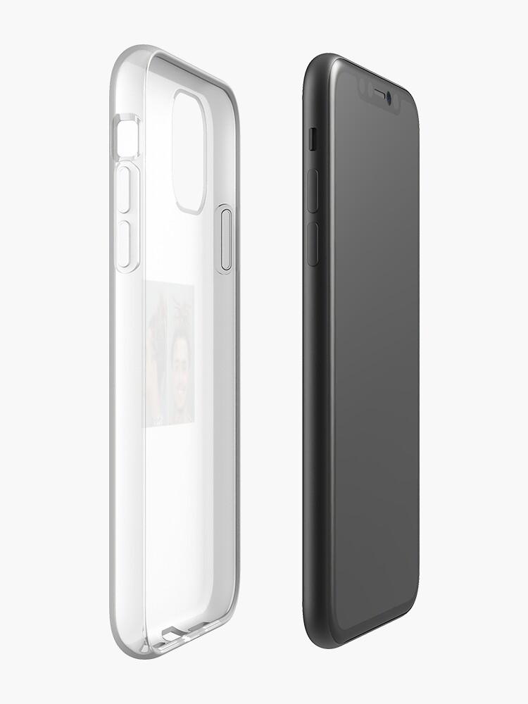 Coque iPhone «POMME DE SAUMISSEMENT SUCRANT MUGSHOT», par toonvank