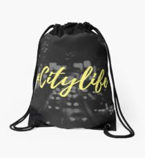 #Citylife Drawstring Bag