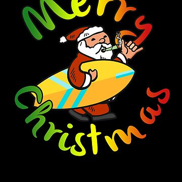 Merry Christmas Jamaican Santa by hadicazvysavaca