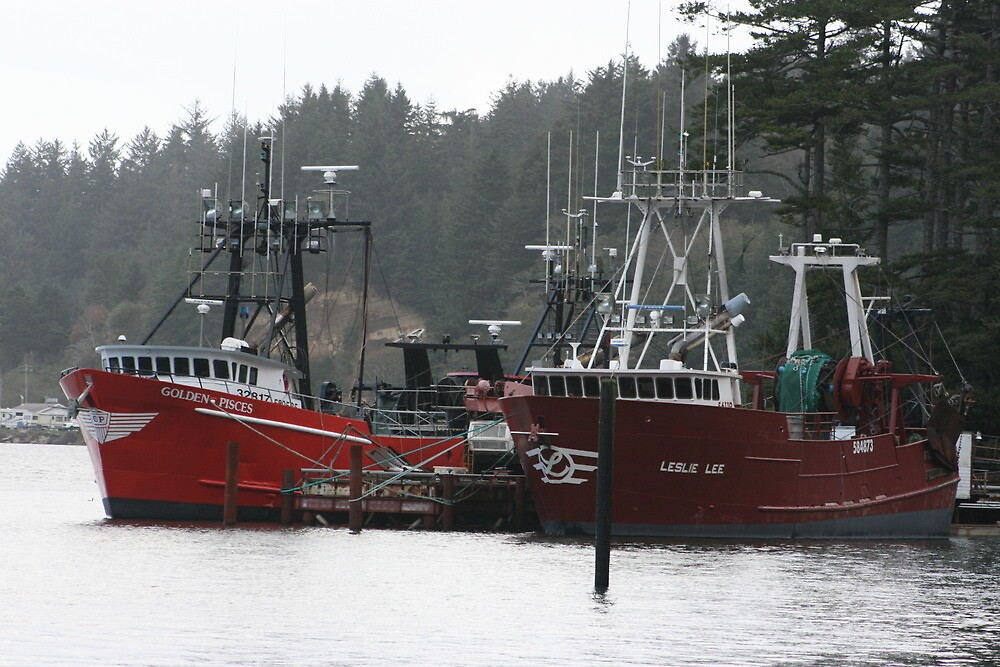 F/V's Golden Pisces & Leslie Lee by RobertW3