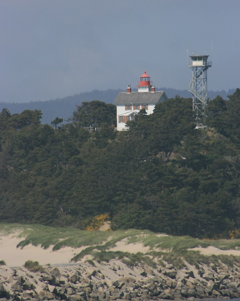 The Watchtower,Yaquina Bay by RobertW3