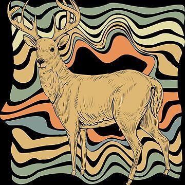 Deer moose by GeschenkIdee