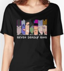 The Seven Deadly Villains  Women's Relaxed Fit T-Shirt