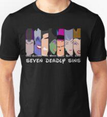 The Seven Deadly Villains  Unisex T-Shirt