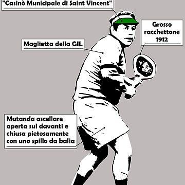Abbigliamento di Fantozzi (tennis) by sick-boy