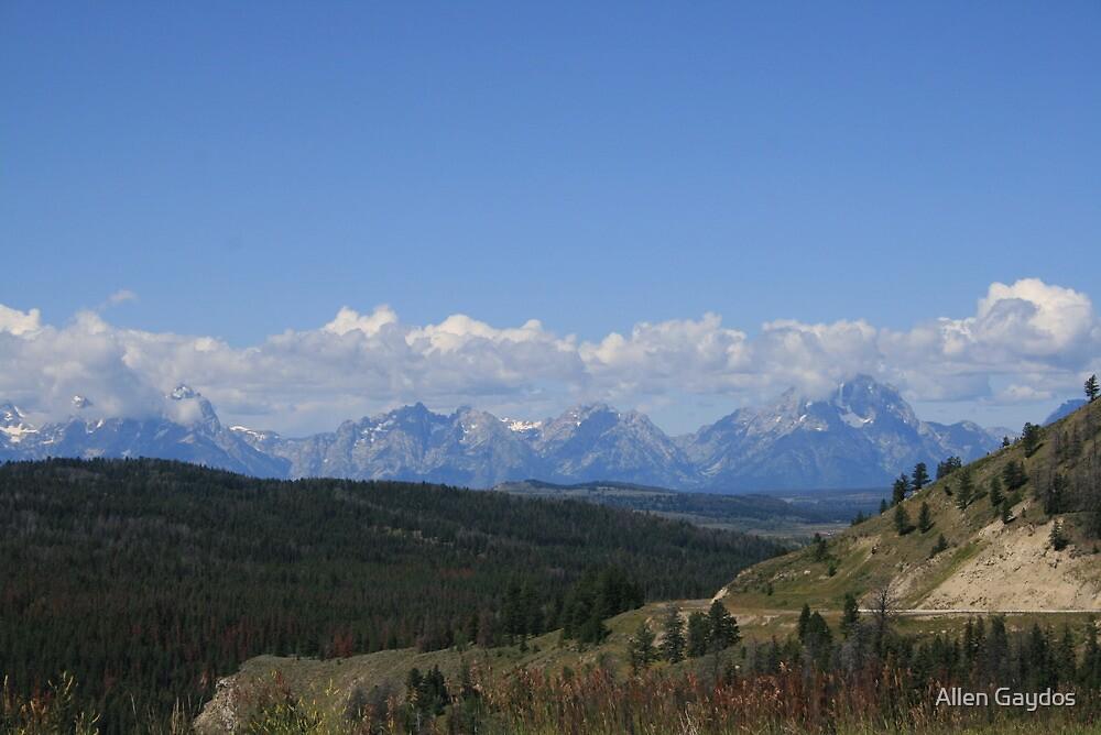 Grand Teton Mountains  by Allen Gaydos