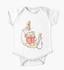 Nursery Characters, Peter Rabbit, Beatrix Potter  One Piece - Short Sleeve