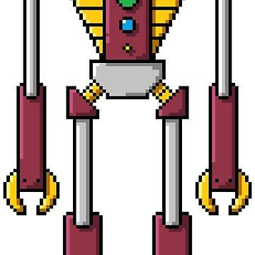 Pixel Robot 139 by Vampireslug