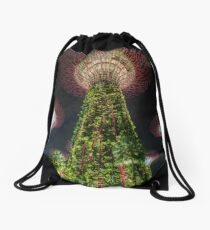 Gardens by the Bay Drawstring Bag
