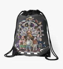 The Dude Abides Drawstring Bag