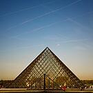 Le Musée du Louvre by Jack Jansen