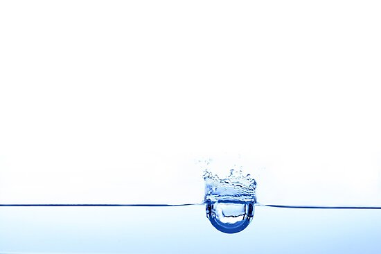 Water drop by bsilvia
