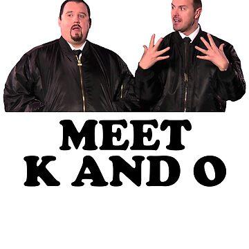 Phoenix Nights - Meet K and O by red-rawlo