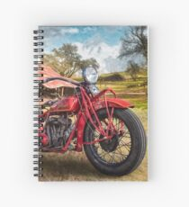 Cuaderno de espiral 1931 Indian Scout