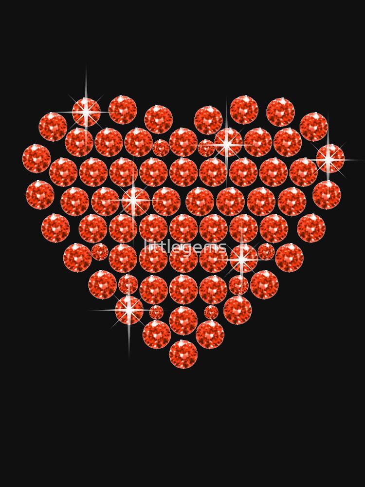 Sparkly Rhinestone Heart by littlegems