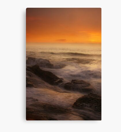 Misty Seas Canvas Print