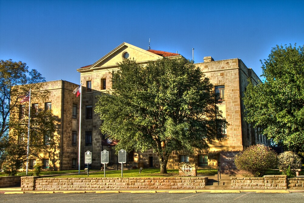 Palo Pinto County Courthouse by Terence Russell