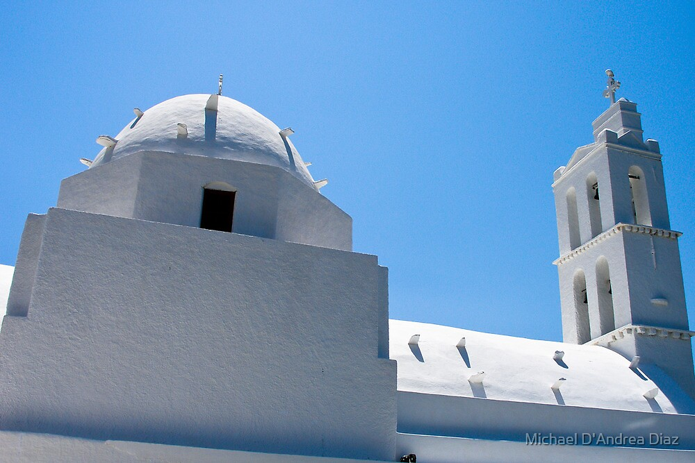 Church of Ios by Michael D'Andrea Diaz