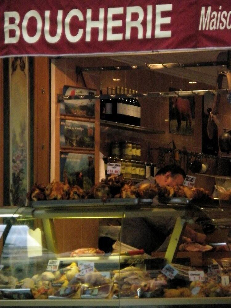 Boucherie in Paris by ablokl07