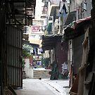 Hong Kong back alleyway Mid Levels by mklau