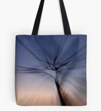 Zoomed tree at dusk Tote Bag