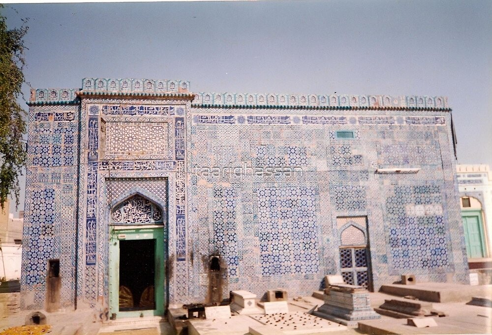 The Tomb  of  Yusef  Gardezi  Multaan  ,Pakistan 1999 by taariqhassan