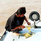 Pineapple seller - Mekong Delta, Vietnam by mklau