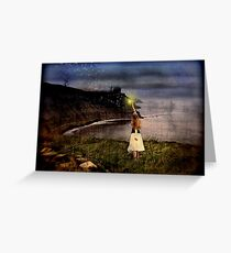 """""""Catch A Falling Star"""" Greeting Card"""