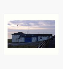 The Lifeboat Station. Art Print