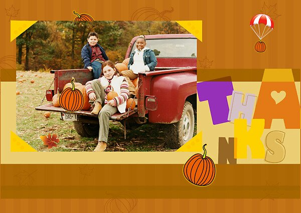 Thanksgiving card by amanda110