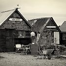 Old Fishermans Huts by Country  Pursuits
