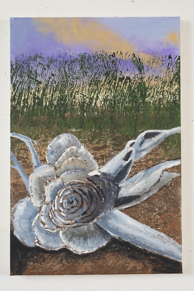 The Rose Tree stump by Roza Ganser