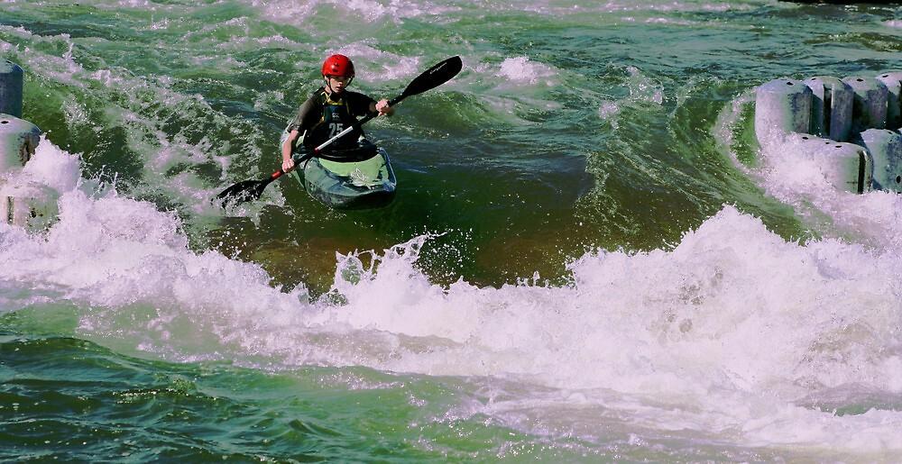 paddling by Matthew  Smith