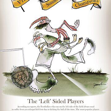 Sunderland Football Left Winger by tonyfernandes1
