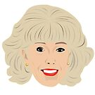 Coronation Street - Audrey Roberts plain design by gregs-celeb-art