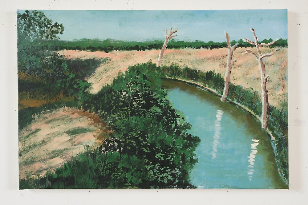 Little Stream by Roza Ganser