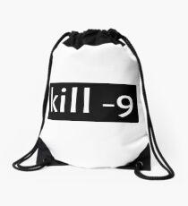 kill -9 Drawstring Bag