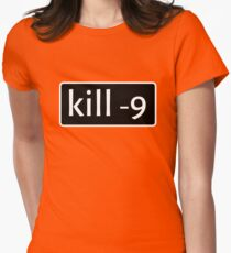 kill -9 Women's Fitted T-Shirt