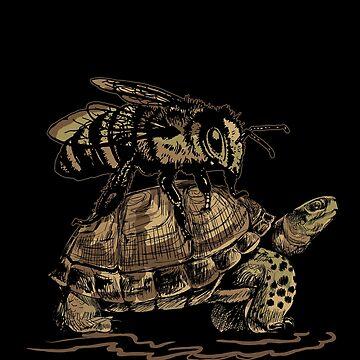Turtle bee by GeschenkIdee