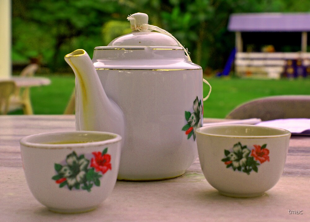 Tea Setting for 2 by tmac