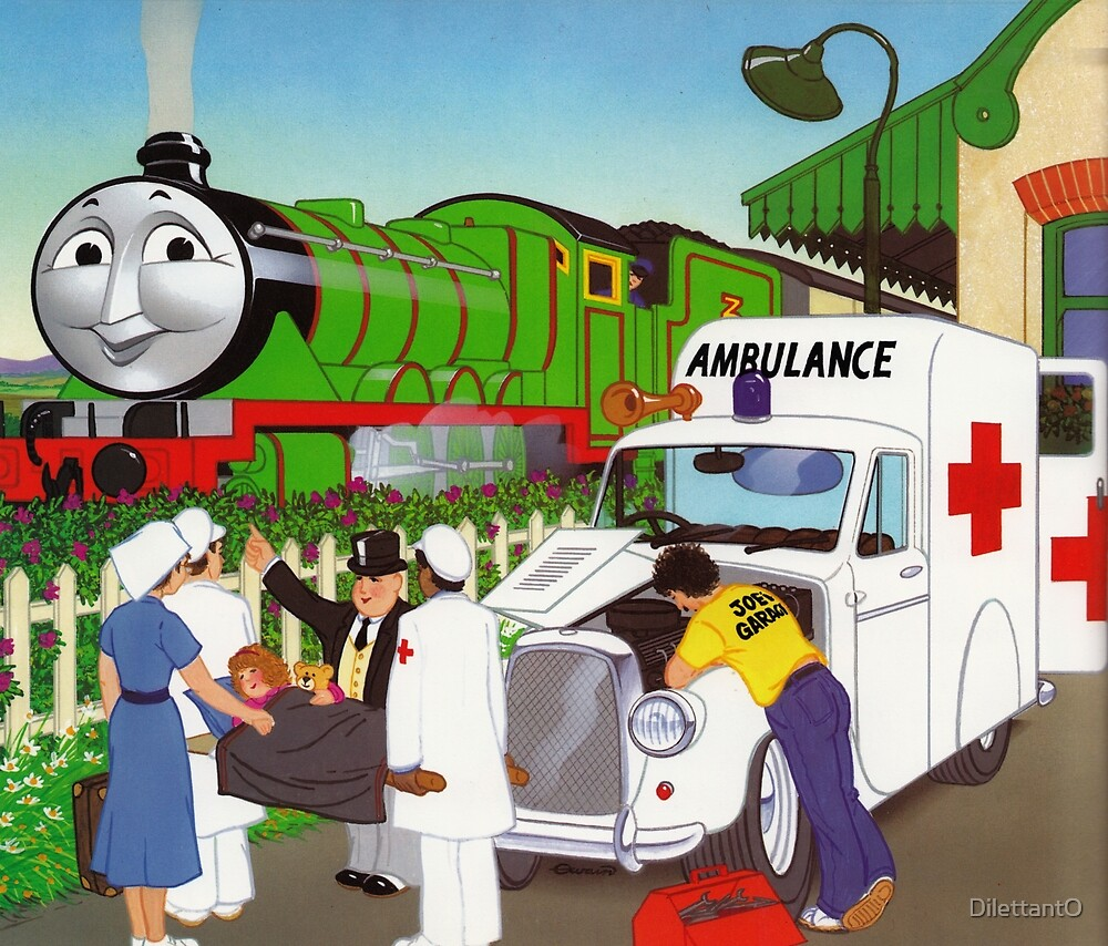 HENRY AND THE MYSTERY MECHANIC by DilettantO