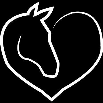 Horse Horse Animal Love Gift Rider Equitation by shirter12