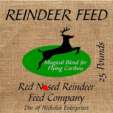 CHRISTMAS: REINDEER FEED by CalliopeSt