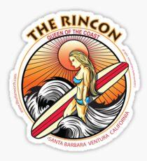 THE RINCON, QUEEN  OF THE COAST Sticker