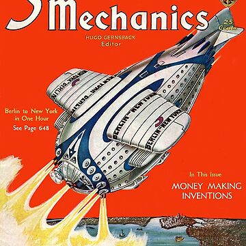 1931 Science and Mechanics Nov 1931 cover by TOMSREDBUBBLE