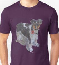 Jack Russell remembers the fallen Unisex T-Shirt